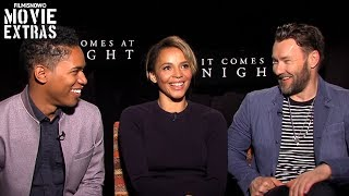 It Comes at Night 2017 Joel Edgerton Carmen Ejogo  Kelvin Harrison Jr talk about the movie