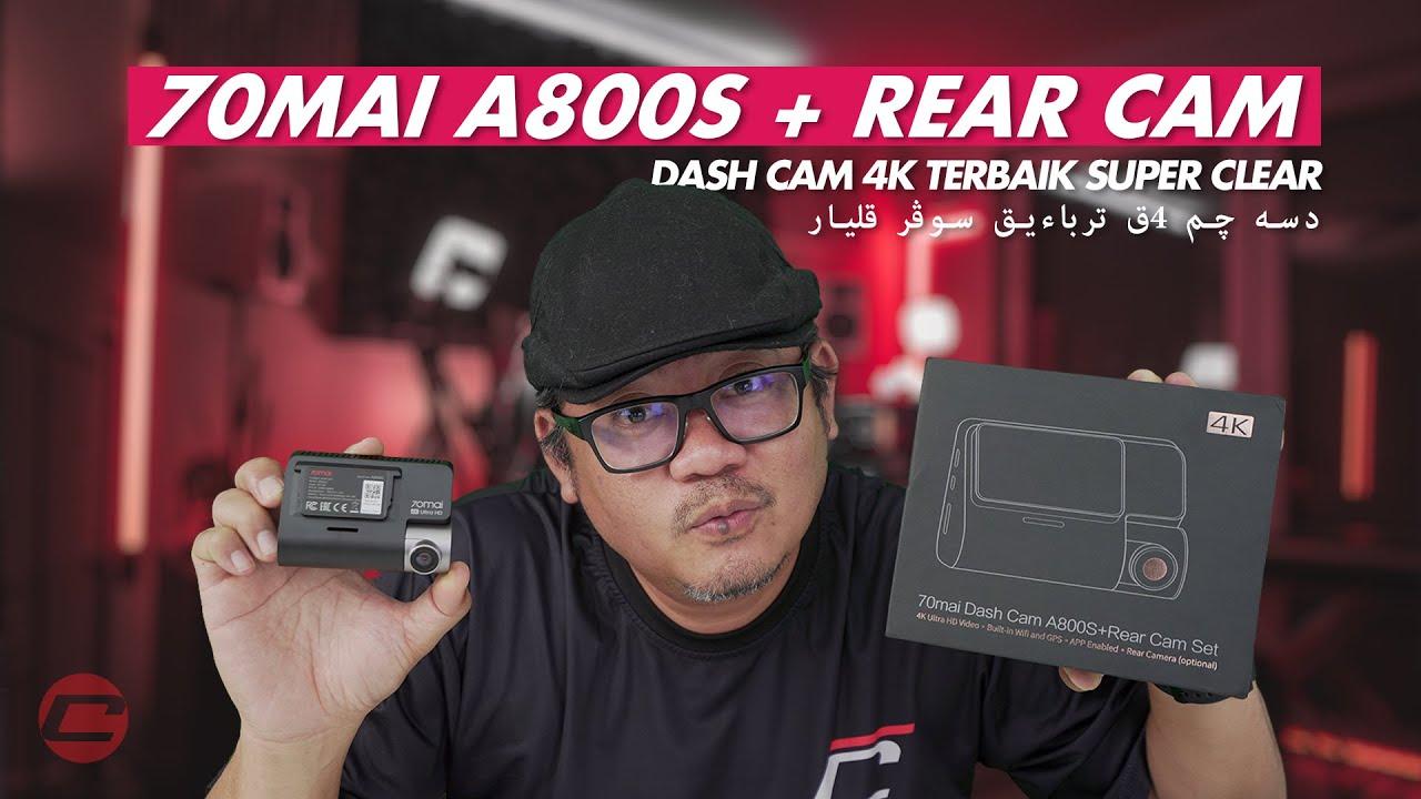 70MAI A800S - RAKAMAN TERBAIK SUPER CLEAR!