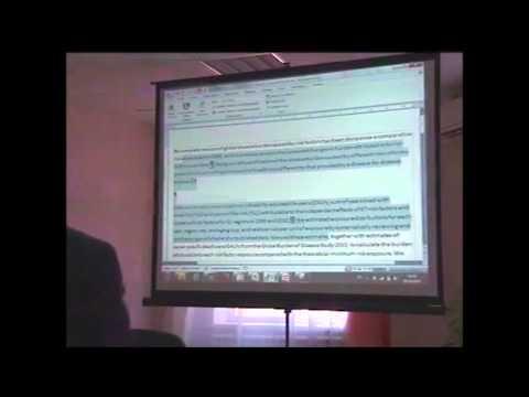 Обучающий семинар Thomson Reuters в ЗНБ ЮФУ
