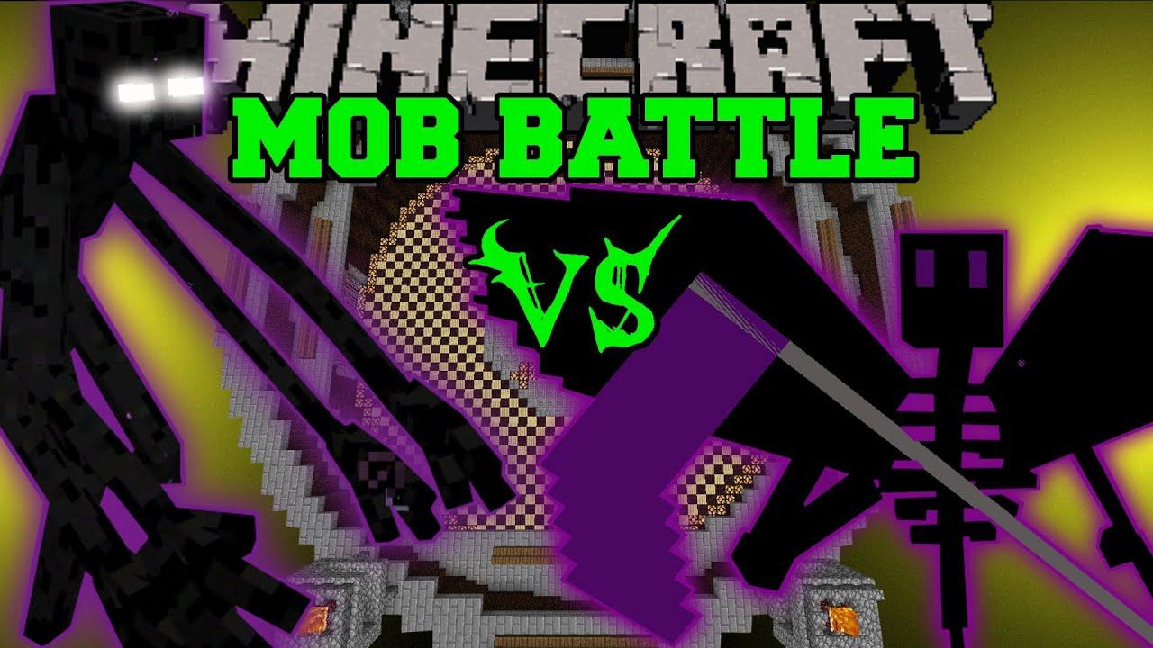 mutant enderman vs ender reaper minecraft mob battles