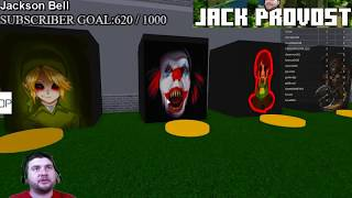ahh Penny Wise IT der Clown ist in Roblox Nightmare Fighters SCARY