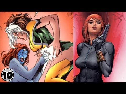 Top 10 Superheroes Who Can't Get Pregnant