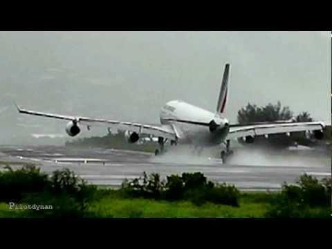 Heavy rain at St Maarten (HD1080p)