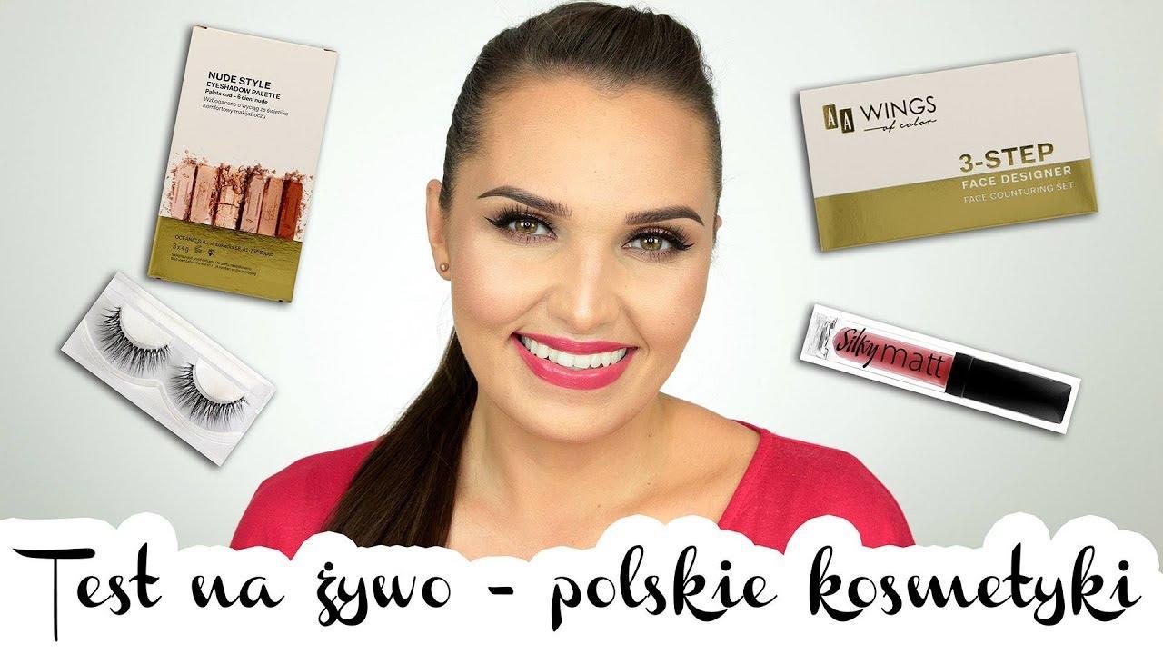 ✽ TEST NA ŻYWO – Polskie nowości | AA Wings of Color, GlamShop, Paese ✽