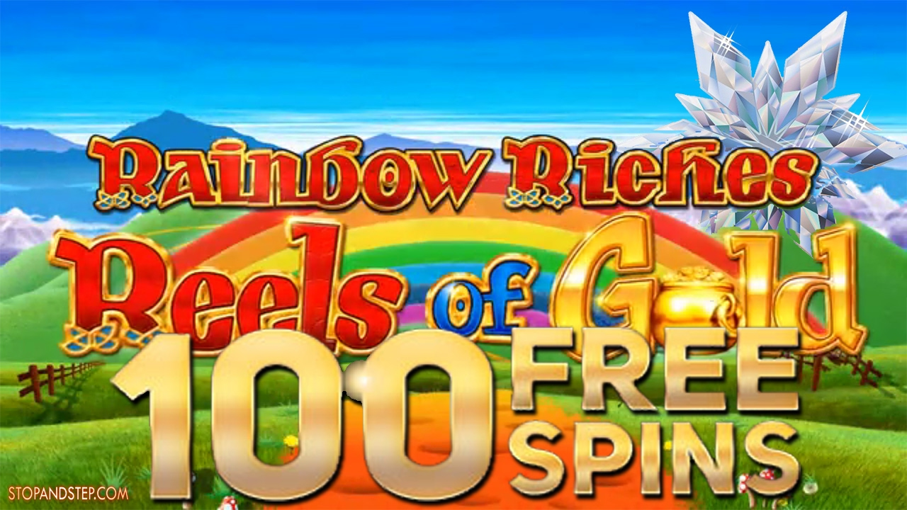 Try the Rainbow Riches Reels of Gold slot at Casumo
