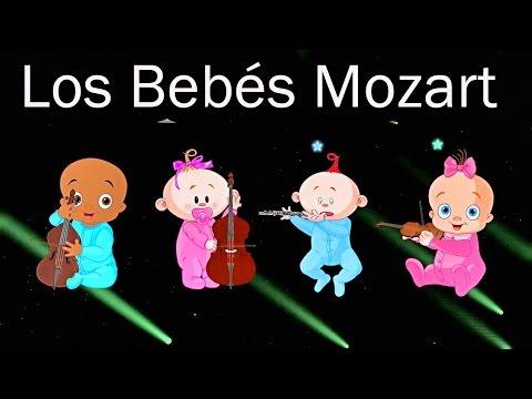 Los Bebés Mozart en el Mundo - Efecto Mozart para bebés - llamarada - Canciones de Cuna #