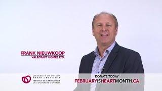 Ottawa Heart Institute 2017 Valecraft Promo AD
