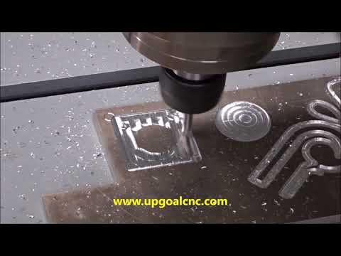 Testing Video of Heavy Duty Metal Mould CNC Engraver UG-6060