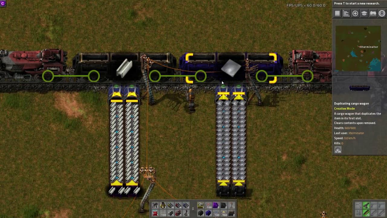 Factorio Mod Spotlight - Miniloader by Xterminator