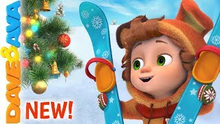 🎄 Winter Fun | Christmas Songs & Nursery Rhymes | Dave and Ava Christmas 🎄