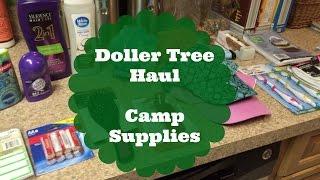 Dollar Tree Haul- Camp Supplies!