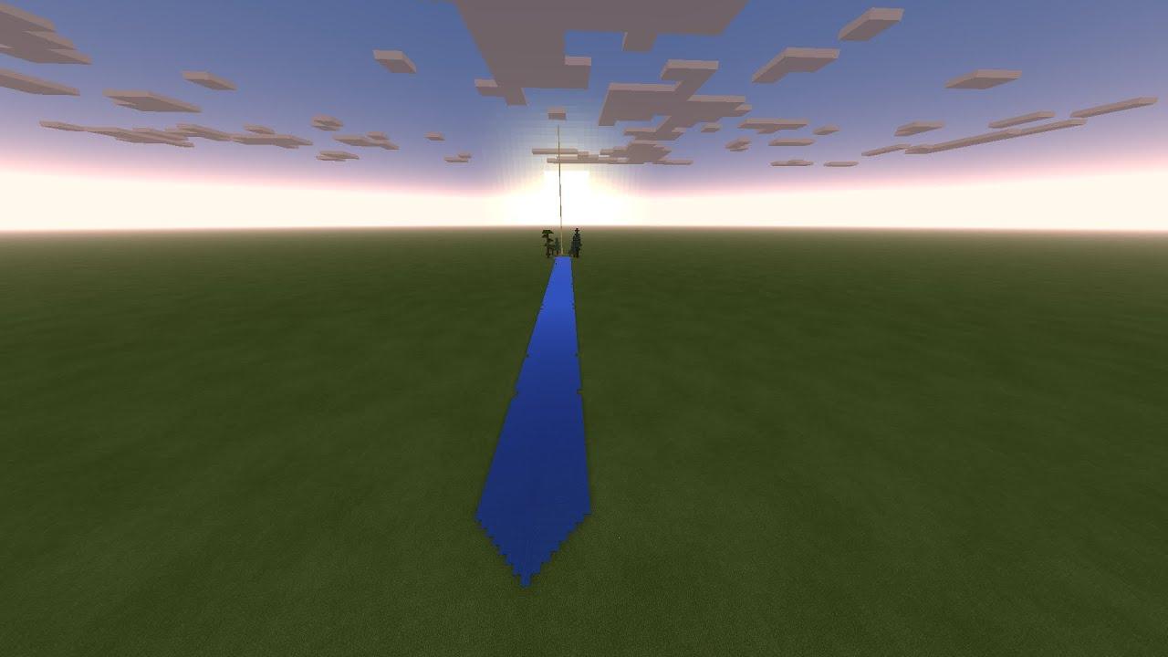 minecraft 4k render distance test