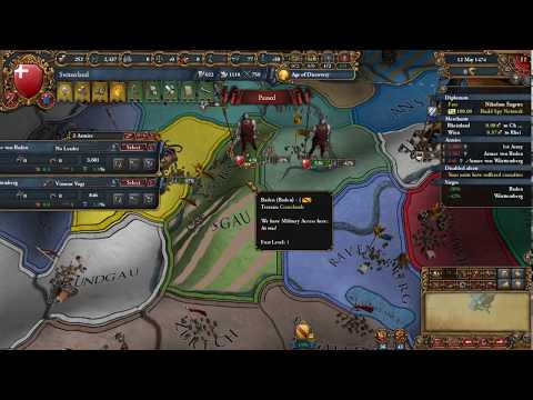 *PSI Live* - Europa Universalis IV (Switzerland) - Part 4: Totally Lawful Territory
