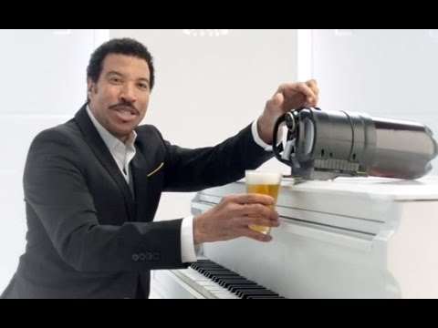 Aussie Beer Commercial/ad. Tap king- HELLO Lionel Ritchie.