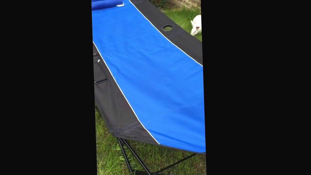 Kijaro Canopy Hammock First Test