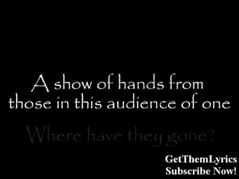 Rise Against - Audience Of One (Lyrics) - GetThemLyrics