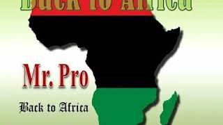 Mr PRO - Back To Africa