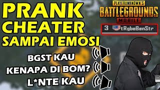 BACOTIN CHEATER 1 TIM SAMPAI EMOSI - PUBG MOBILE VOICE CHANGER PART #13
