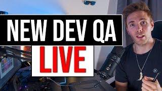 🔴 New Developer Q&A - Live   Daily Standup   @joshuafluke everywhere