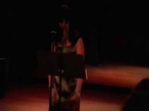 """Voice recital at """"The University Center for the Performing Arts"""" in Ft Lauderdale, FL"""