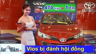 Toyota Vios bị đánh hội đồng, đại hạ giá xuống 470 triệu ngang VinFast Fadil, Suzuki Ertiga!
