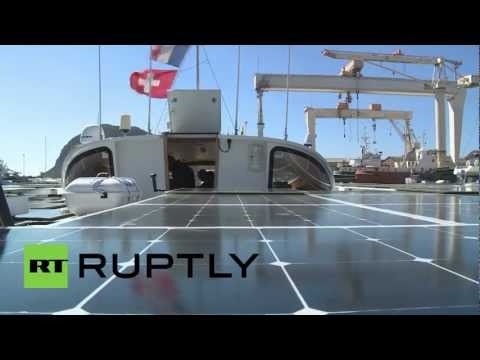 France: Largest solar powered ship ready to set sail