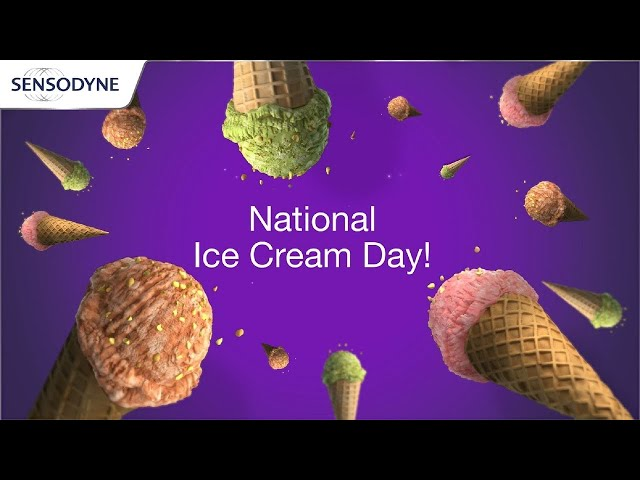 Sensitive Teeth on National Ice Cream Day | Sensodyne Rapid Relief - Sensodyne US