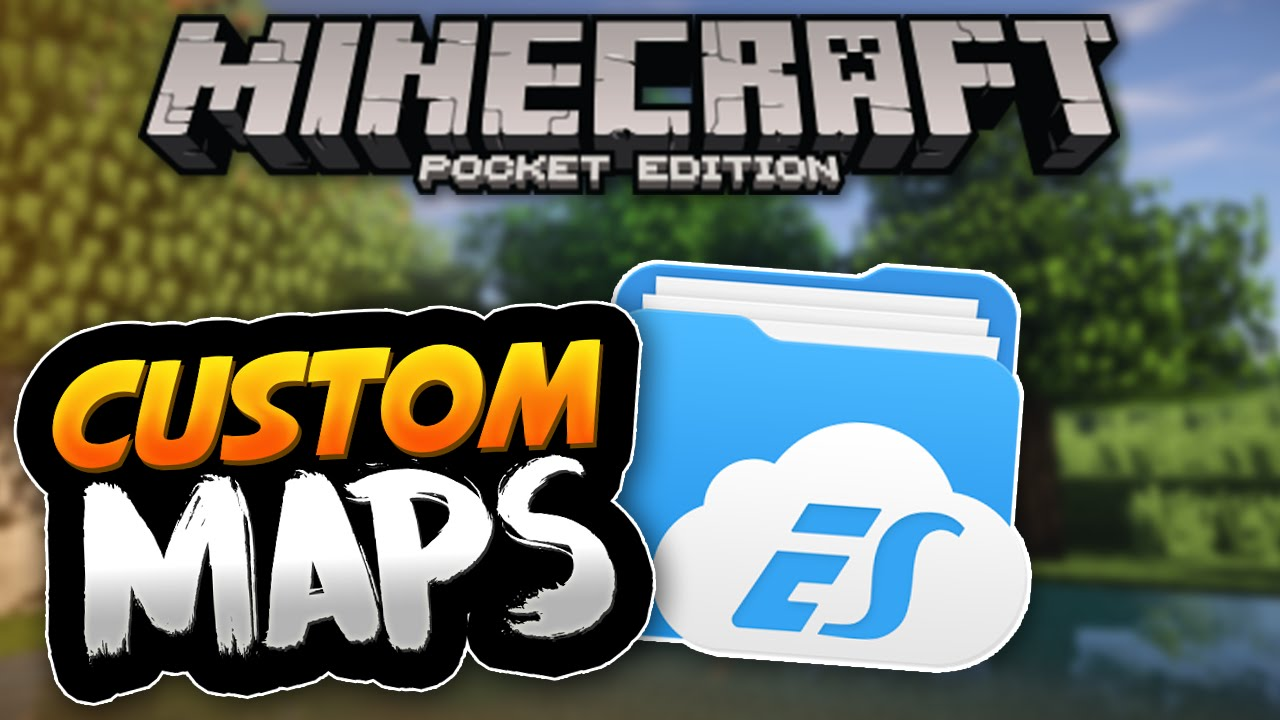 Android How To Install Custom Maps Minecraft PE Pocket Edition - Maps fur minecraft pocket edition