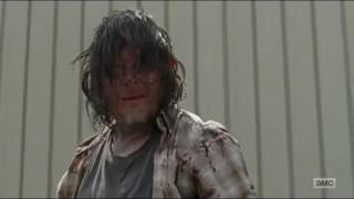 he Walking Dead 7x08 Daryl Kills Fat Joey