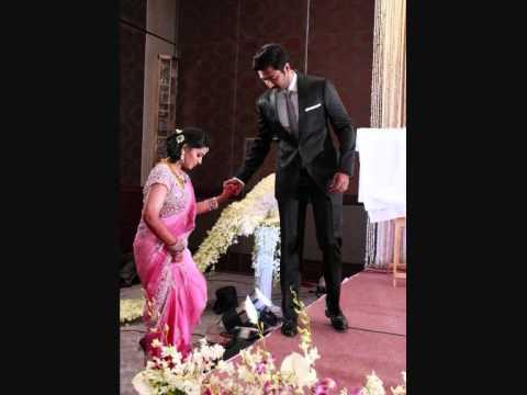 Sneha Prassana Wedding Reception Youtube