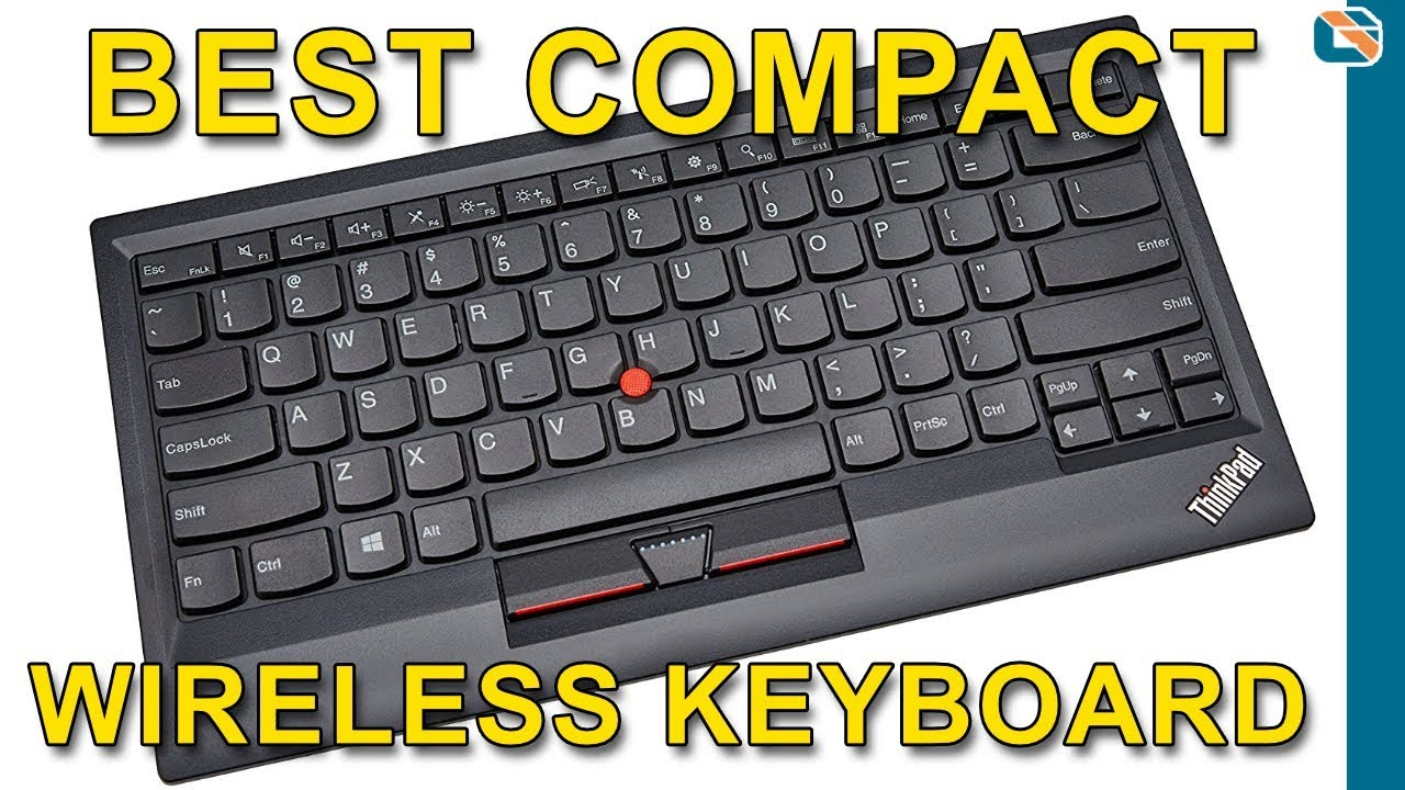 c5819cef9a6 ThinkPad Compact Bluetooth Keyboard with TrackPoint Review - YouTube