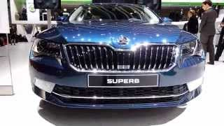 New Skoda Superb - Geneva 2015