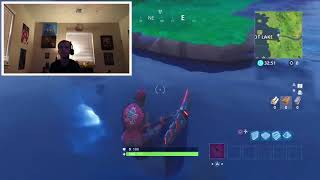 Under Water glitch Fortnite