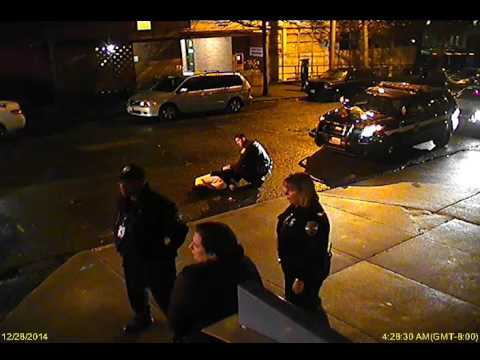 Hospital Surveillance Video of Seattle Police Officer Daniel Erickson's Use of Force (see summary)
