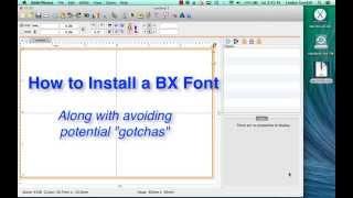 كيفية تثبيت BX الخط في Embrilliance أو EmbroideryWorks - المنقحة والمحدثة