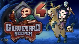 Graveyard Keeper: Up In Flames! - PART 4 - Kitty Kat Gaming