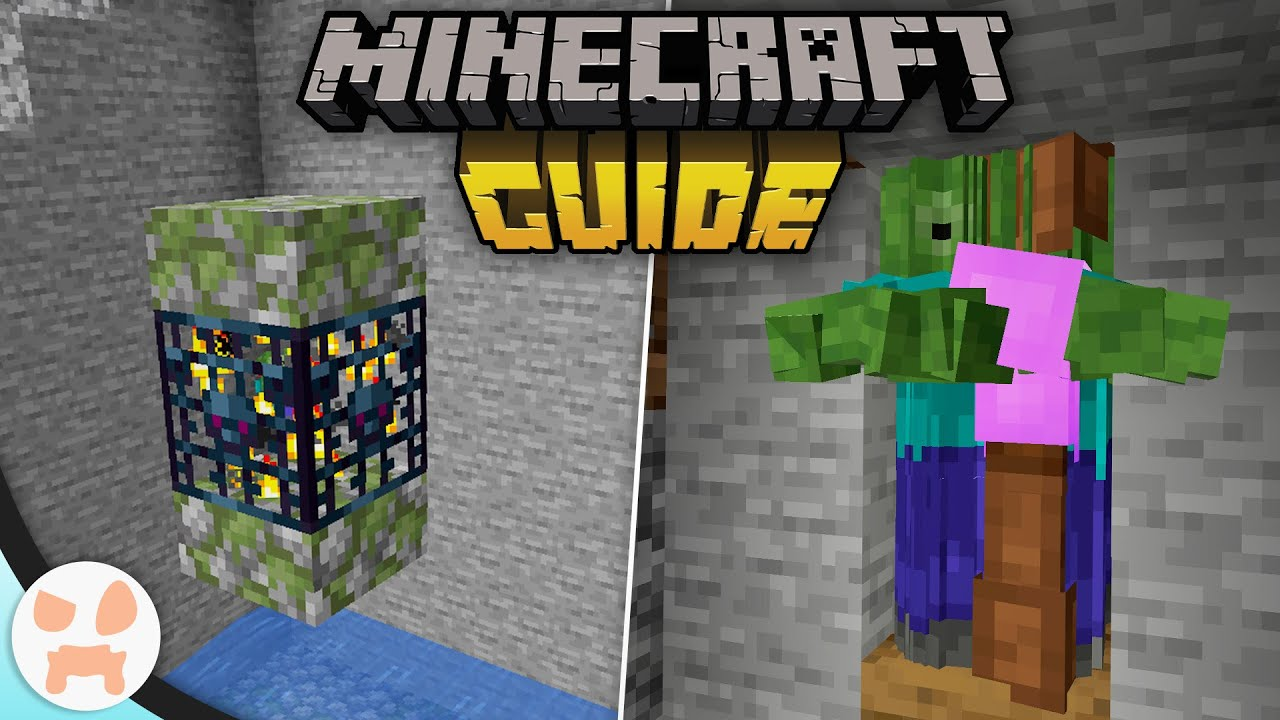 EASY ZOMBIE SPAWNER XP FARM!  The Minecraft Guide - Tutorial Lets Play  (Ep. 11)