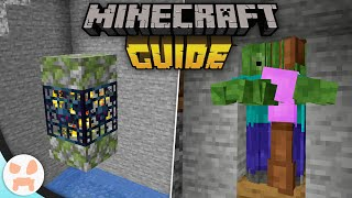 EASY ZOMBIE SPAWNER XP FARM! | The Minecraft Guide - Tutorial Lets Play (Ep. 12)