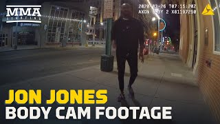 Jon Jones DWI Arrest Bodycam Video - MMA Fighting