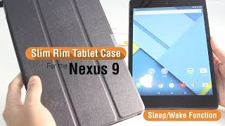 Orzly Slim Rim Tablet Case for the HTC Nexus 9 + With sleep sensor