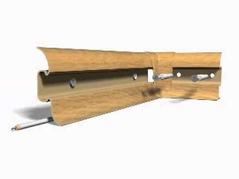 sockelleisten clever flex mit gummilippen montage. Black Bedroom Furniture Sets. Home Design Ideas