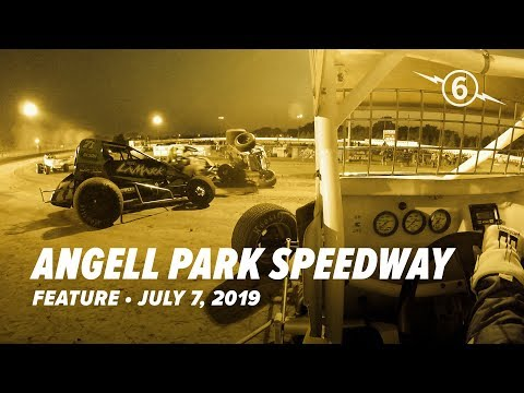 July 7, 2019 Angell Park Speedway Feature