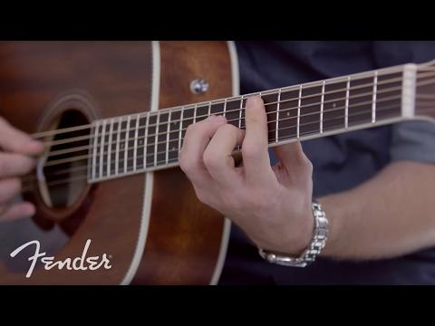 Fender PM-1 Standard Dreadnought All-Mahogany NE | In-Depth Look | Fender