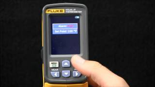 How to Use the Fluke VT04 Visual IR Thermometer Hi/Low Temperature Alarms