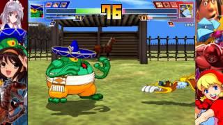 Some Mugen: Team Redmoon vs Team Blasting Impacts