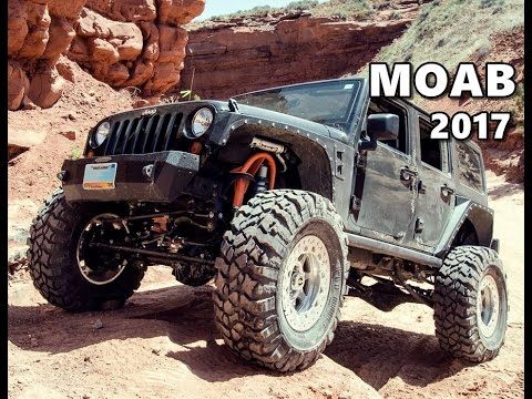 2017 Moab Easter Jeep Safari Highlights