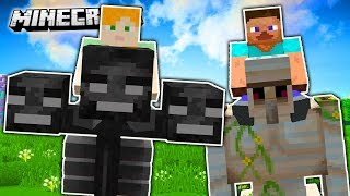 HOW TO RIDE ON ANY MINECRAFT MOB!! (Animal Bikes)