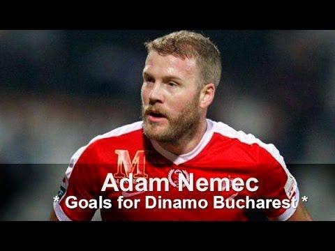 Adam Nemec Goals for Dinamo Bucharest