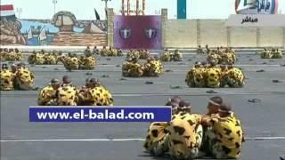 بالفيديو.. دفعة ضباط الصف تستعرض مهارات «الكاراتيه» أمام الرئيس