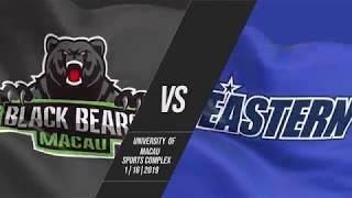Macau Black Bears v Hong Kong Eastern   Highlights   2018-2019 ASEAN Basketball League